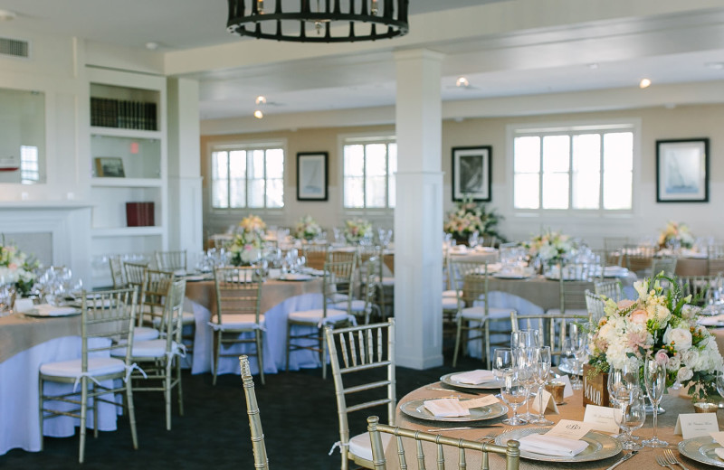 Wedding reception at Winnetu Oceanside Resort.