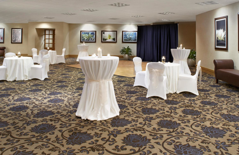 Banquet Hall at the Sheraton Brookhollow Hotel Near the Galleria