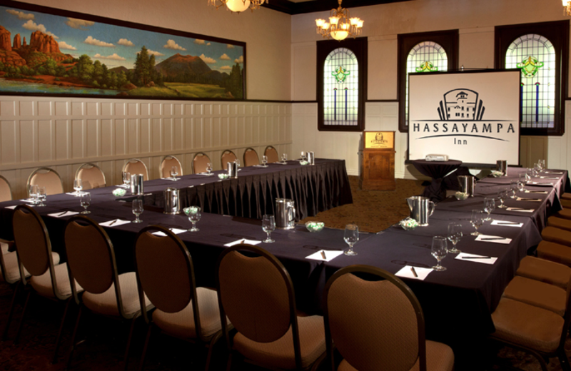 Conference room at Hassayampa Inn.