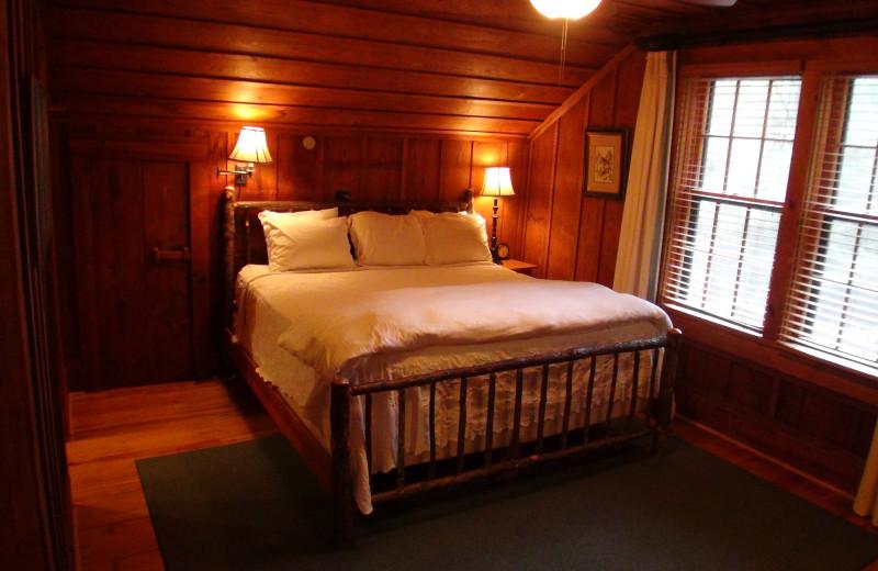 Guest room at High Hampton Inn.