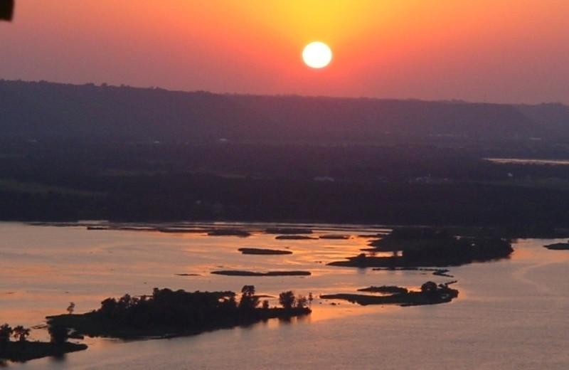 Sunset View of Cedar Ridge Resort
