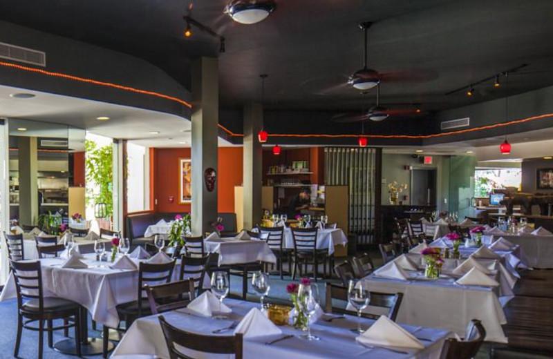 Restaurant view at Lemon Tree Inn.