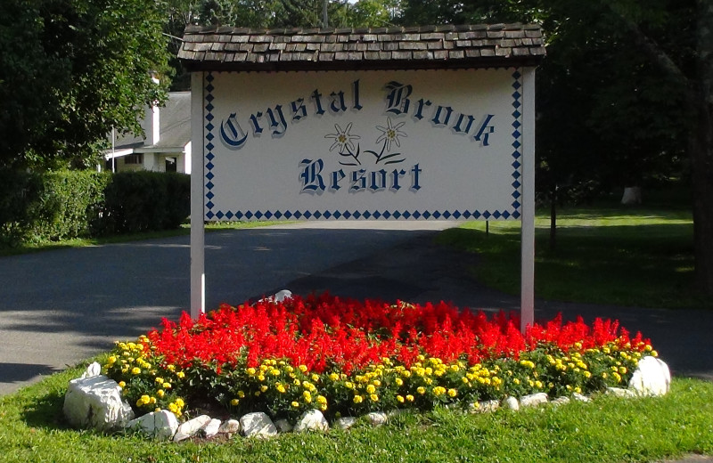Welcome to Crystal Brook Resort.
