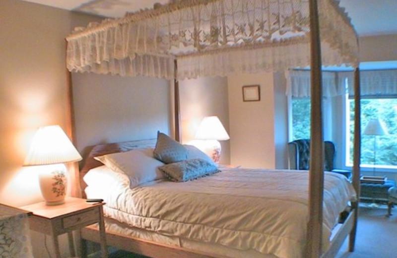 Bedroom at Birch Ridge Inn.