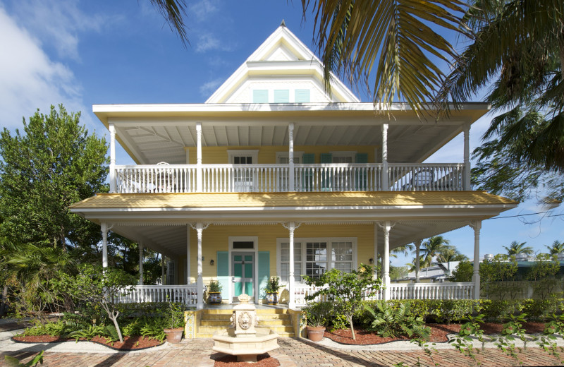 Guest house at The Southernmost House.