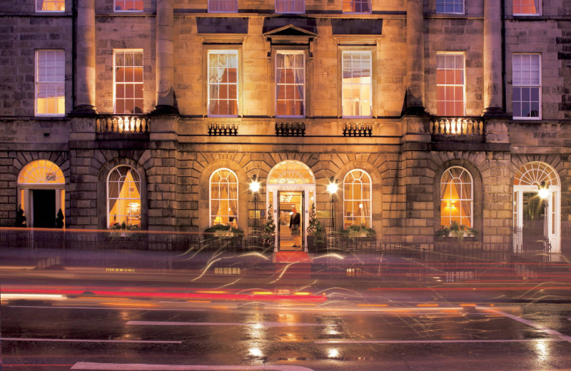 Exterior view of Roxburghe Hotel.
