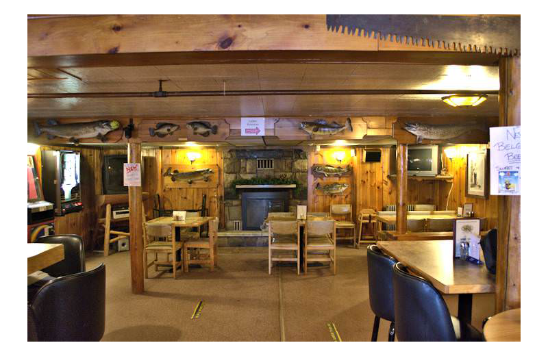 Dining at Silver Rapids Lodge.