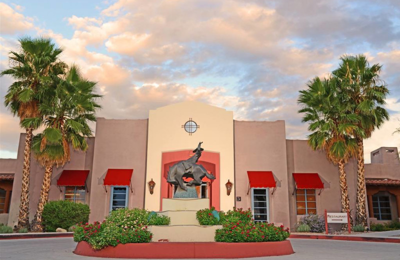 Exterior view of Lodge on the Desert.