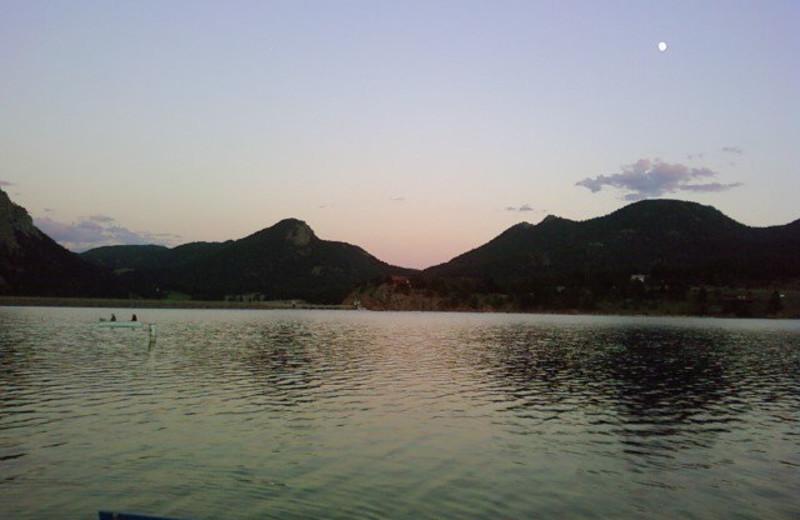 Lake near by Timber Creek Chalets.