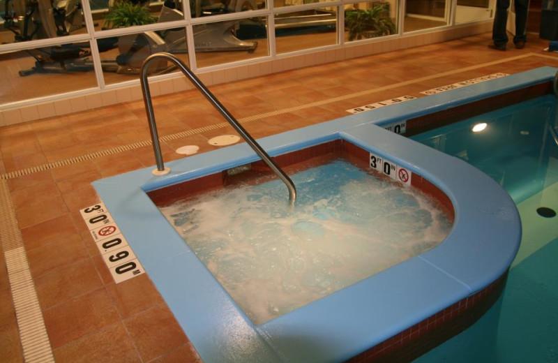 Hot Tub at the Hampton Inn & Suites Kitchener