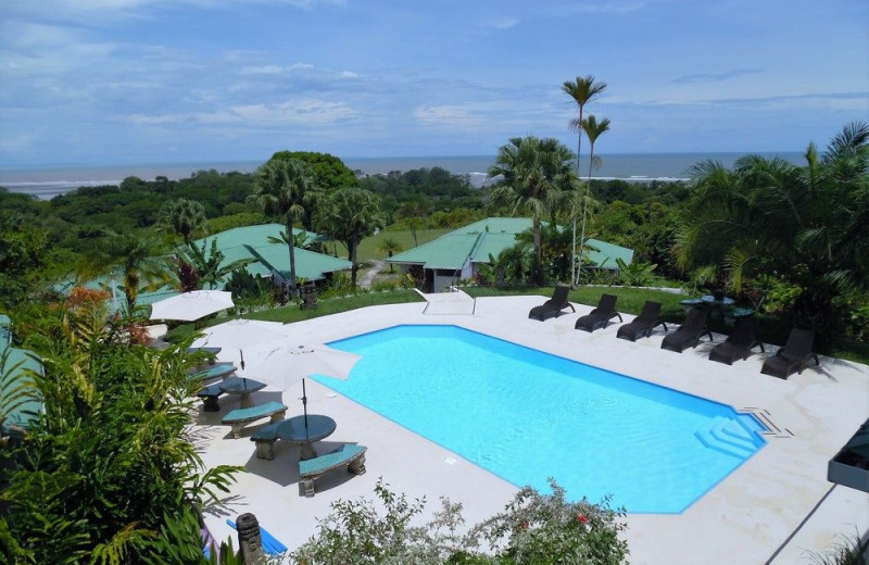Outdoor pool at The Lookout at Turtle Beach.