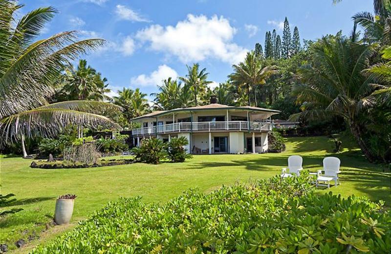 Vacation rental exterior at Big Island Vacation Rentals.