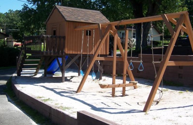 Playground at Ehrhardt's Waterfront Resort.