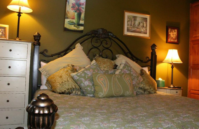 Guest room at All Seasons Luxury Properties.