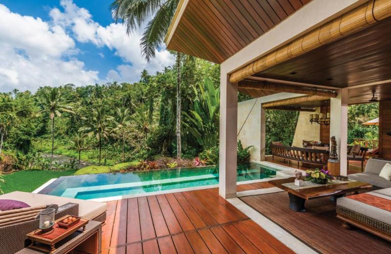 Outdoor pool at Four Seasons - Bali at Sayan.