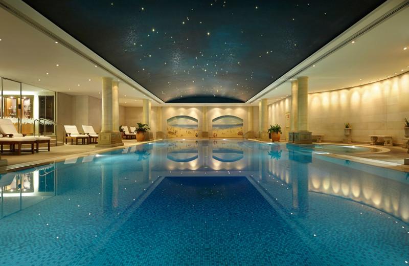 Indoor pool at Langham Sydney Hotel.