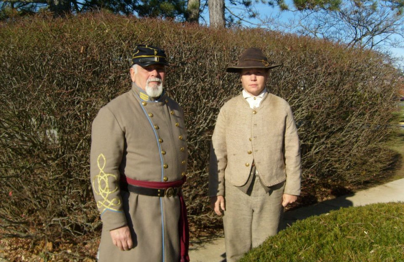 Historical reenactments at Eisenhower Hotel & Conference Center.
