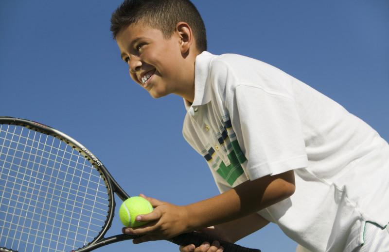 Tennis at Mirror Lake Inn Resort & Spa.