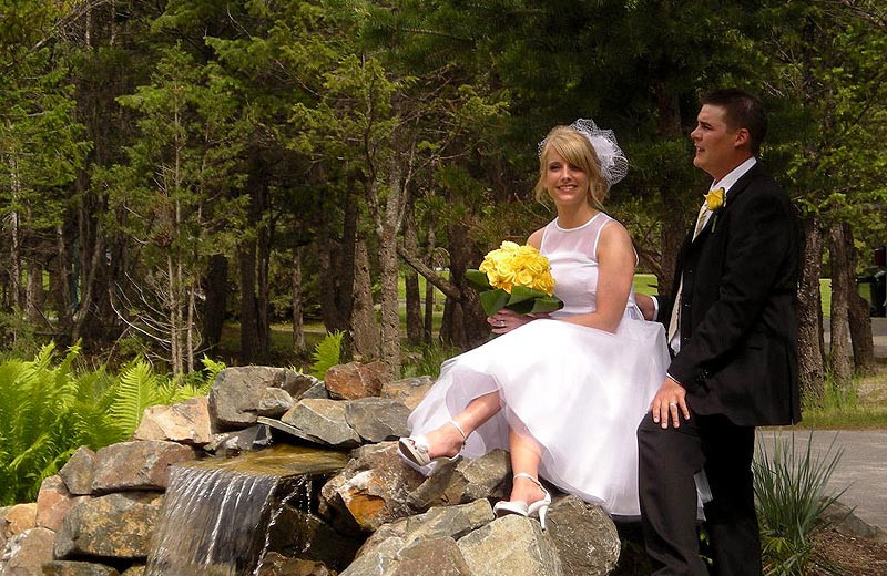 Wedding at Bighorn Meadows Resort.