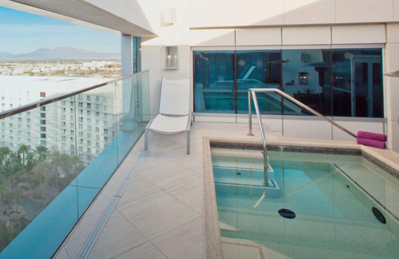 Indoor Hot Tub at Hard Rock Hotel