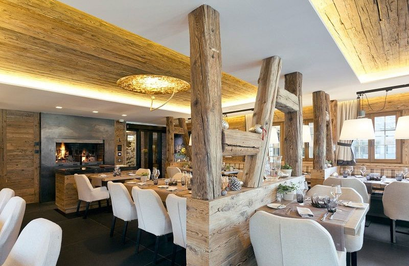 Dining at Hotel Rougemont.