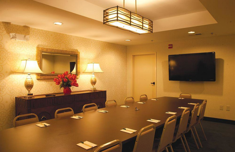Meeting space at Compass Cove Resort.