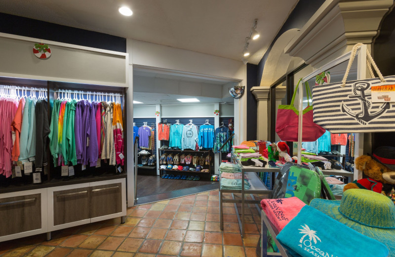 Shop at Ocean Reef Resort.