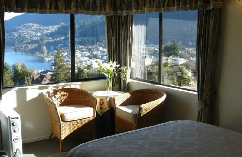 Guest room at Balmoral Lodge.