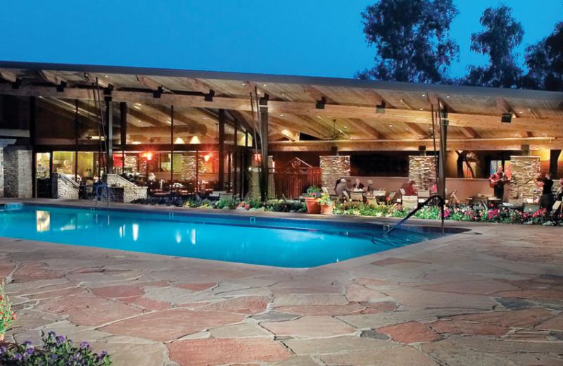 Outdoor pool at Canyon Ranch Tucson.
