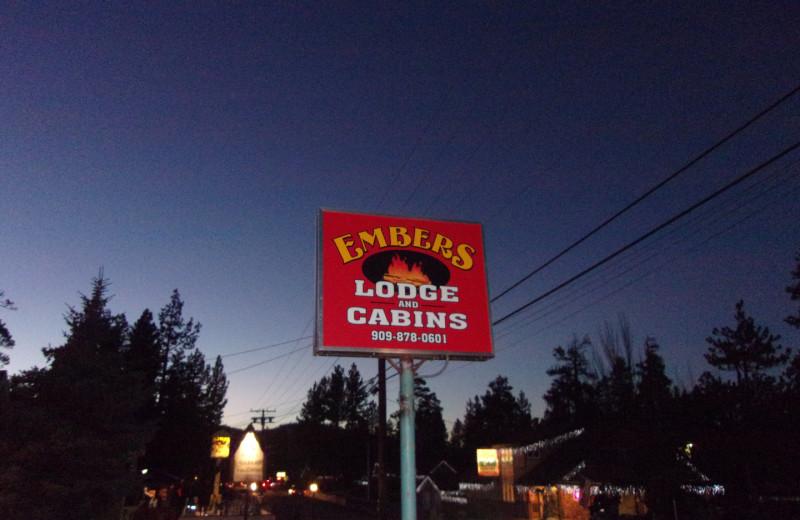 Welcome to Embers Lodge.