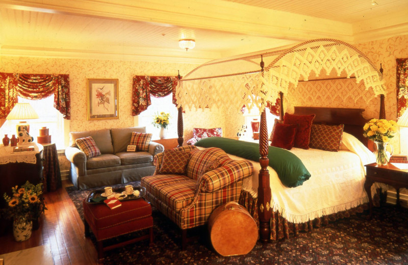 Guest room at The Inn at Ormsby Hill.