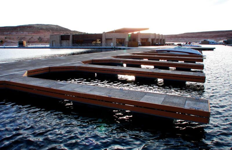Docks at Antelope Point.
