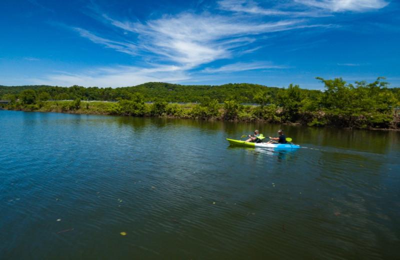 Flat Creek Resort Kayak Rentals at Rockwood Resort.