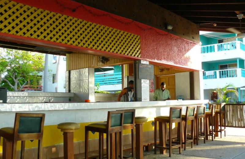 Bar at Negril Beach Club Condos.