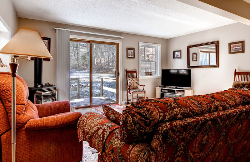 Rental living room at GetAway Vacations.