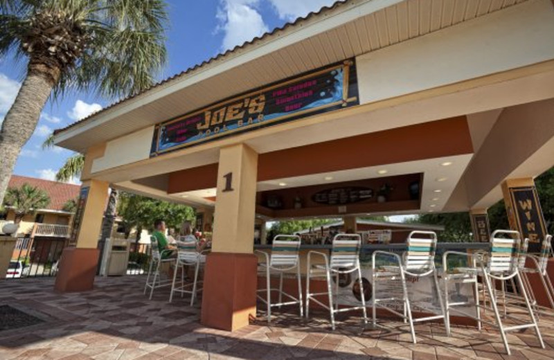 Outdoor dining at Westgate Town Center.