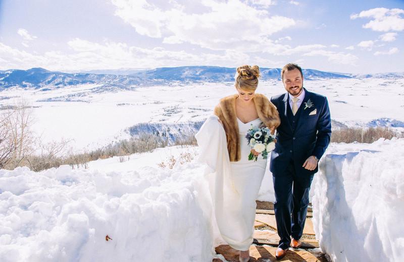 Winter wedding at Bella Vista Estate.