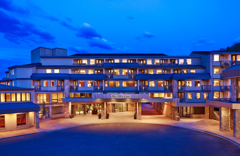 Exterior view of The Westin Snowmass Resort.