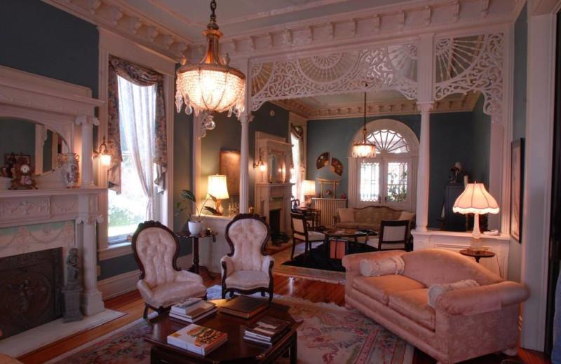 Foyer at Grace Manor Inn.