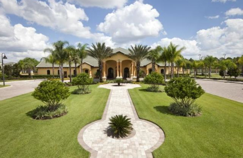 Resort exterior at Orlando Luxury Escapes Vacation Rentals.