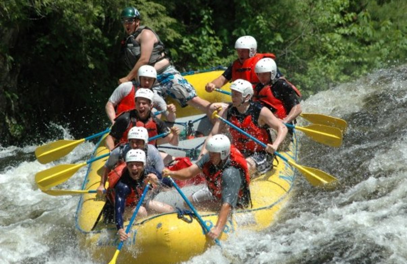 Water Rafting at North Country Rivers