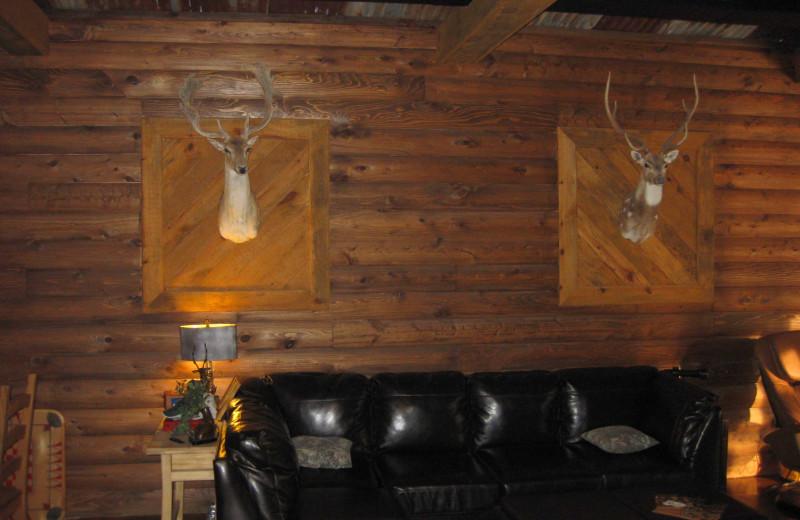 Banquet room at Goodman Ranch.