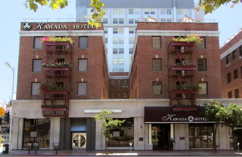Exterior view of Kawada Hotel.