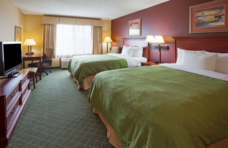 Guest room at Country Inn & Suites By Carlson, St Paul NE.