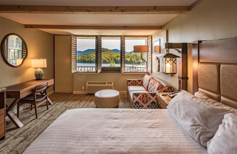 Guest room at High Peaks Resort.