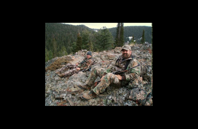 Hunting at Castle Creek Outfitters.