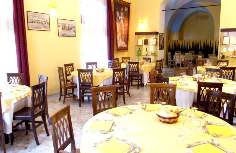 Dining at Hotel Palazzo Baldi.