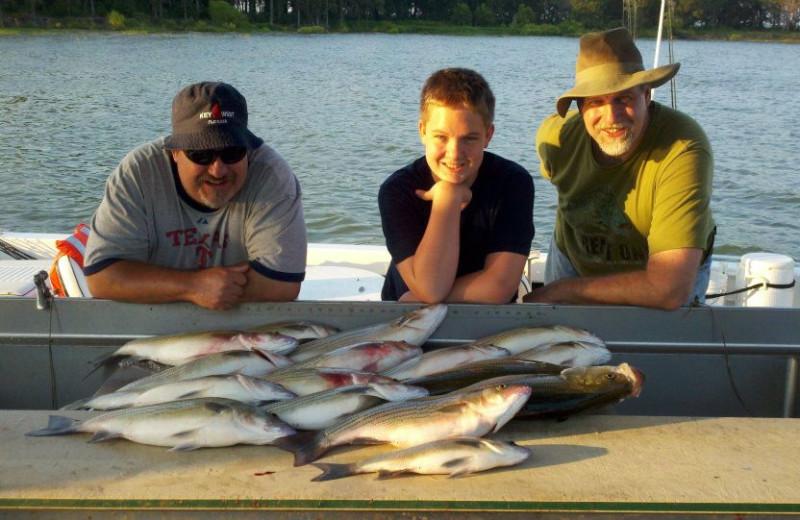 Fishing at Anchor Inn Marina & Resort.