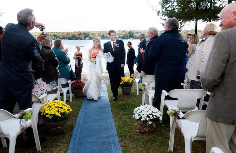Wedding at Westwind Inn on the Lake.