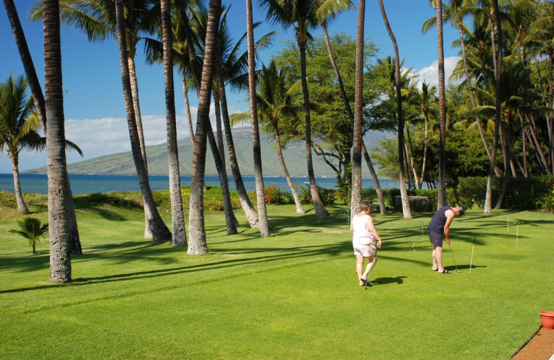 Golfing at Hale Kai O Kihei.